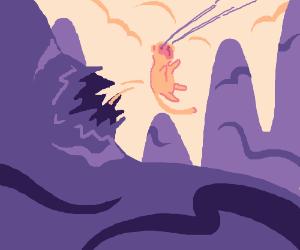 Birth of Monkey King.