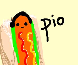 hotdog pio