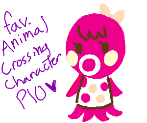 Fave Animal Crossing Villager PIO (Me=Kyle)