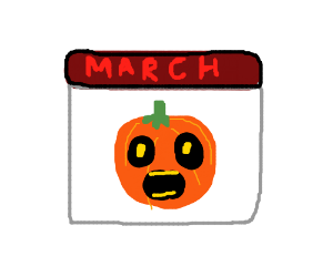 Halloween in March!