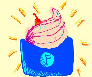 Draw a frozen yogurt