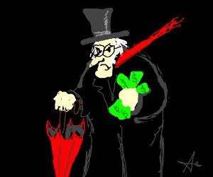 Umbrella + Scrooge
