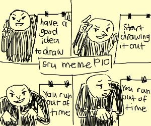 Gru meme PIO