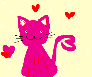 pink kitty