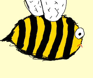 It's not bee week! Draw some bees anyway.