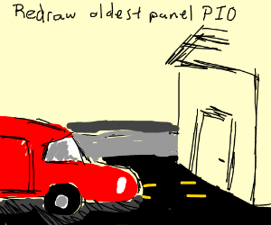 Redraw your oldest panel PIO