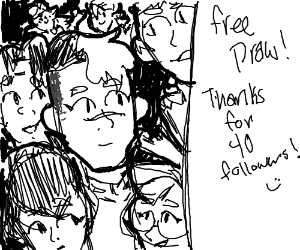 Free draw! Thanks for 40 followers!