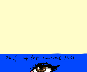 Use 1/4 of the Canvas PIO
