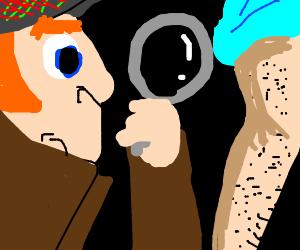 Sherlock Holmes Discovers a Furry Girl