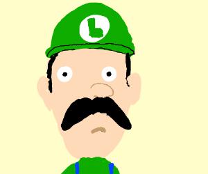 Luigi stares into your soul