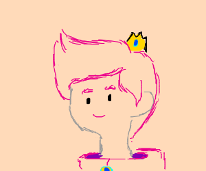 princess bubblegum as a dude