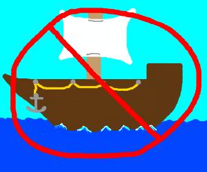 no ships allowed