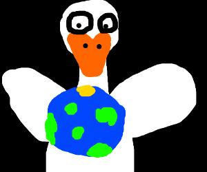 duck owns world