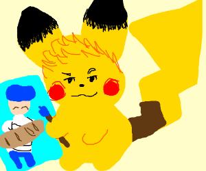 Pikachu but it's Jazza