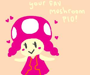 Draw your favorite mushroom/fungus PIO