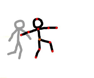 Pivot the stickman animation program