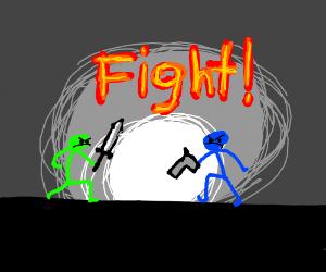 Stick Figure Fights