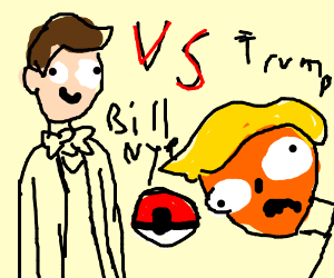 Pokemon Battle! Bill Nye vs Trump!