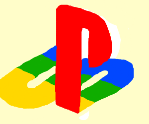 playstation 1 logo drawing by omel rh drawception com playstation 1 logo vector playstation 1 logo sticker