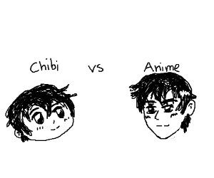 Chibi Vs Anime