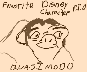 Fav. Disney Character PIO (Genie from Aladdin)