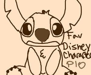 Fav Disney Character PIO