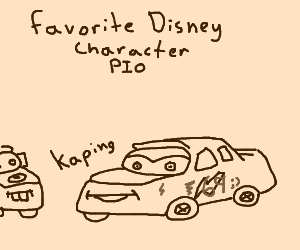 Favorite Disney character pio (mulan)