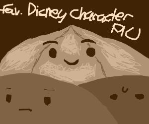 Favorite Disney Character PIO