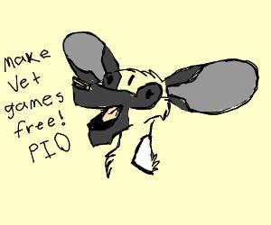 Make vet games free! (PIO)