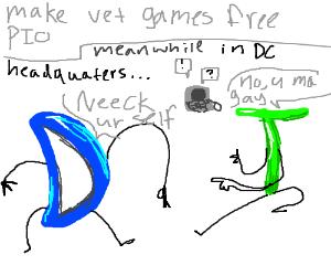 Make Vet games free (PIO)