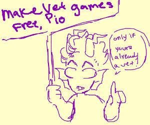 Make Vet Games Free PIO