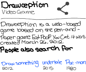 Definition of Drawception
