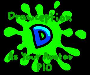 Drawception D as your avatar PIO