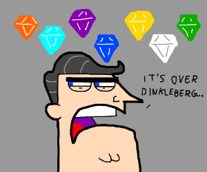 Timmy's Dad has all the Chaos Emeralds