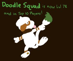 Congrats Doodle Squad on Level 78 Bro!