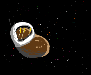 Potato lost in space