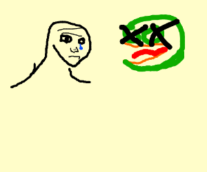 wojak at pepe's funeral
