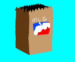 Mlg Paper Bag