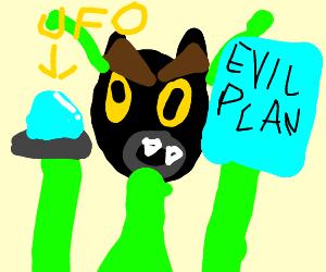 Evil Cat Aliens