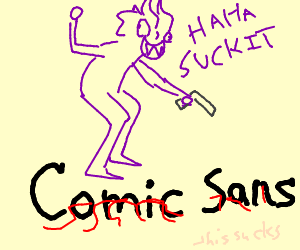 Sans gets rekt by Cronus A