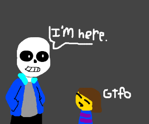 Sans is here.