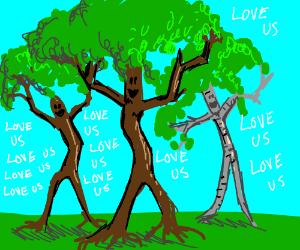 Love the tree men
