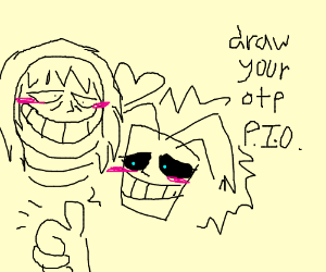 Blushing dudes your otp pio