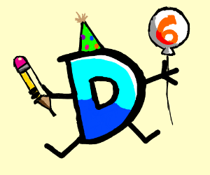 Happy 6th birthday drawception :D