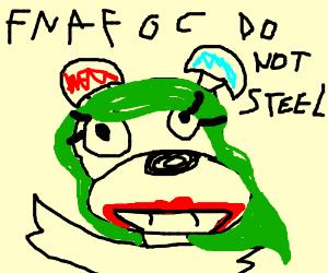 rabid horrid fnaf oc