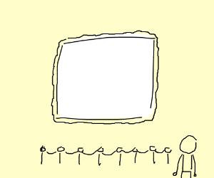 a masterpiece of blank art