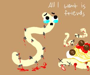 deadly noodle wants friends