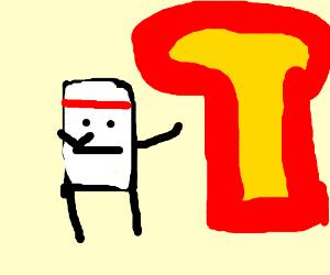 Karate tofu fights off nuke