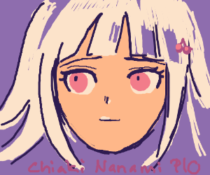 Chiaki Nanami PIO (if you dont know then skip)