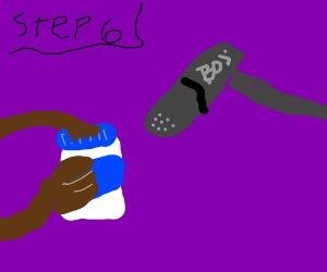 step 5:hold da mayo